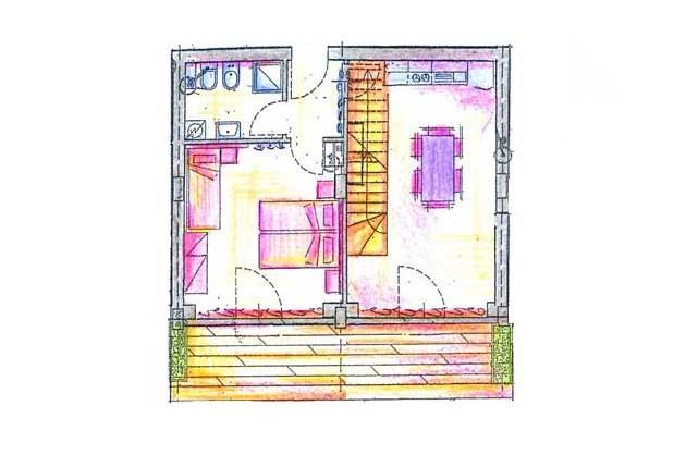Kühlschrank Wohnzimmer